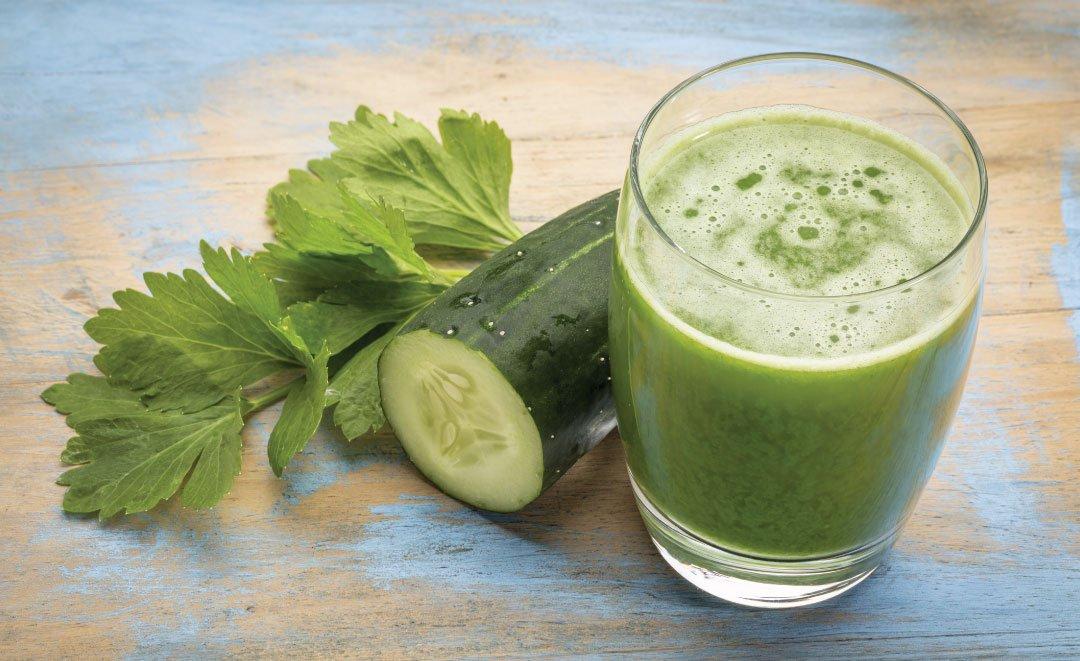 Cucumber Juice Treatment