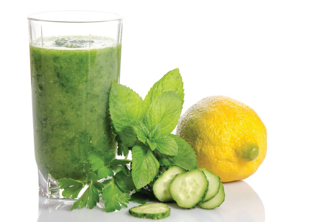 Cucumber and Lemon Juice With Rosewater